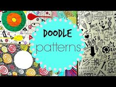 Doodle Pattern Art Journal - YouTube