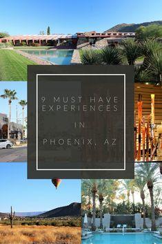 9 of my favorite things to do in Phoenix, Arizona!