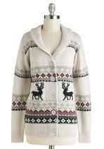 Sweaters - Take Caribou Cardigan in Doe