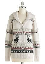 Sweaters - Take Caribou Cardigan in Doe