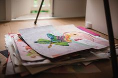 how to turn your kids artwork into a book