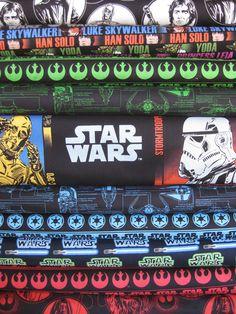 Star Wars Fabric, Star Wars II in FAT QUARTERS, 10 Total