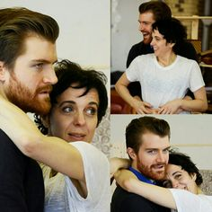 Lovely pair ... 😁 Abigail's Party rehearsal photographs .