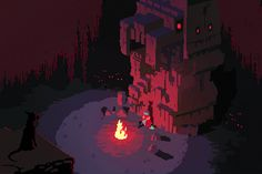 Hyper Light Drifter is an action RPG that's only three years old, although its pixel art style makes it look like a relic from my childhood. It's almost as timeless as those digital adventures, . Pixel Art Gif, How To Pixel Art, Pixel Art Games, Game Design, Animation Pixel, Arte 8 Bits, Animated Gifs, Game Of The Day, 8bit Art