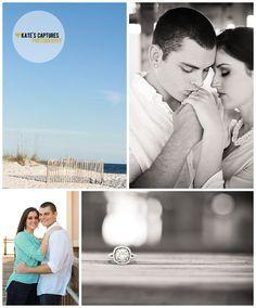 Engagement Photos // Pensacola Beach // Kate's Captures Photography