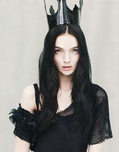 Black princess,  Maria Carla Boscono