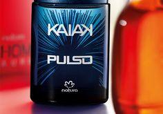 Kaiak Pulso- Vibrante, Kaiak Pulso combina ervas com notas de lima. Uma fragrância que move os homens e exala adrenalina. Ideal para homens que não gostam de ficar parados.