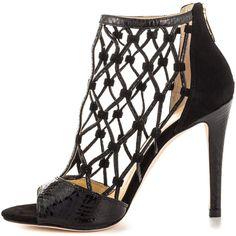 Ivanka Trump Women's Dalta 2 - Black Multi LL (195 AUD) ❤ liked on Polyvore featuring shoes, high heel shoes, black stilettos, sexy black stilettos, sexy high heel shoes and sexy black shoes