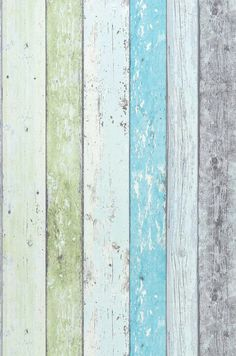 Old Planks wallpaper.  LOVE.
