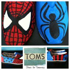 Spiderman TOMS!!