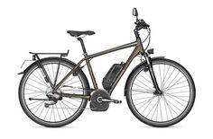 In Bicycle We Trust me dejaron esta bicicleta eléctrica de Raleigh. Mi primera experiencia eléctrica.