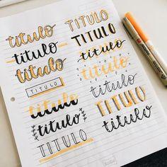 Cute bullet journal doodles by ig Bullet Journal School, Bullet Journal Titles, Journal Fonts, Bullet Journals, Bullet Journal Writing Styles, Bullet Journal Goals, Bullet Journal Ideas Handwriting, Bullet Journal Banner, Kunstjournal Inspiration