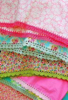 Puntillas para Toallas -servilletas y ropa : cositasconmesh
