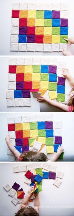 Tutorial: Tangram-esque Fabric Puzzle | Beauty All Around