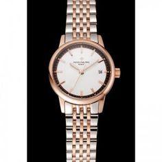 lhlcb3zymre1092 Patek Philippe Calatrava, Luxury Watch Brands, Steel Water, Classic Collection, Sport Watches, Stainless Steel Case, Rose Gold Plates, Quartz, Silver