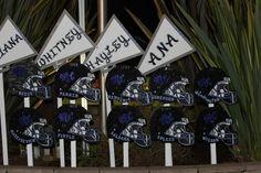 MVCS Senior Night Decorations for Football & Cheerleading