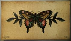 Butterfly byChr James, would make a good tattoo.