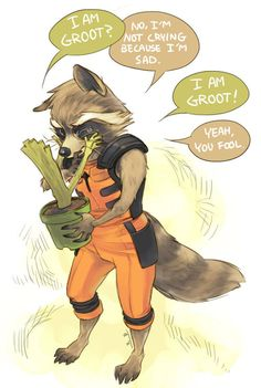Aww. ♥︎(Guardians of the Galaxy) ;-; that's so cute