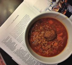 Spicy Freekeh Soup with Meatballs | BB Photographs
