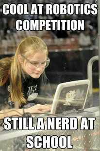 Well, duh. Nerds are cool.
