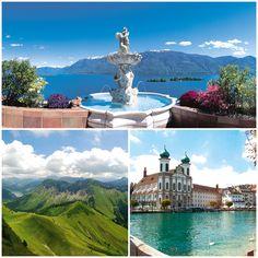#Schweiz #Luzern #Ascona #Montreux www.eberhardt-travel.de/reise/ch-dzasw