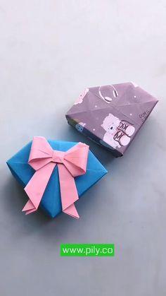 Cool Paper Crafts, Paper Crafts Origami, Creative Crafts, Diy Paper, Diy Crafts For Girls, Diy Crafts Hacks, Instruções Origami, Origami Tutorial, Craft Videos