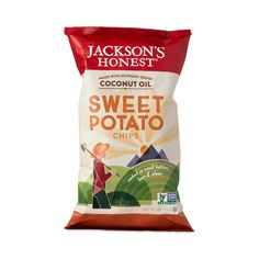 Sweet Potato Chips by Jackson's Honest Potato Chips - Thrive Market