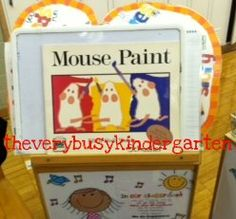 Mouse Paint and the Five Senses