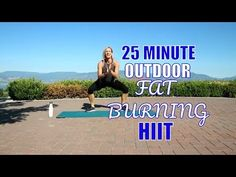 Outdoor Fat Burning HIIT - No Equipment Required - YouTube