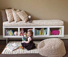 DIY: Using IKEA Shelf Unit as Storage Bench — Better Homes & Gardens