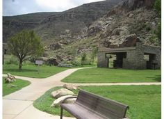 Trail Head at Sitting Bull Falls, NM. It has not changed in over thirty years! :)