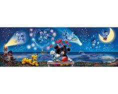 Puzzle Clementoni La Cita de Mickey y Minnie de 1000 Piezas