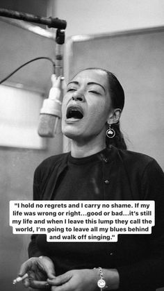 Billie Holiday Quotes, Autumn Aesthetic Tumblr, Aesthetic Words, Retro Aesthetic, Desire Quotes, True Quotes, Qoutes, Philosophy Quotes, Word Of Advice