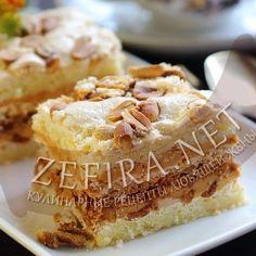Песочный торт с арахисом и сгущенкой – Кулинарные рецепты любящей жены
