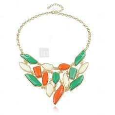 Gorgeous Alloy With Irregular Pendant Women's Necklace