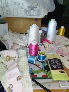 Sewing just calms me..
