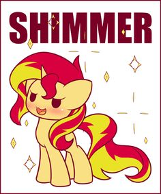 mylittleponygames: Literal Chibi Shimmer Image Source: http://ift.tt/2hXQG0W Follow My Little Pony Games for new games fan art and memes daily!