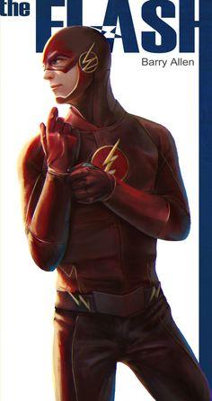 #Flash #Fan #Art. (CW-The Flash-Barry Allen) By: Ong Jojo. ÅWESOMENESS!!!™ ÅÅÅ+