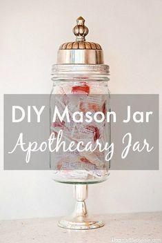 Cute! DIY mason jar