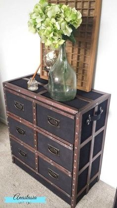 pottery barn inspired ikea dresser makeover, decoupage, painted furniture, woodworking projects
