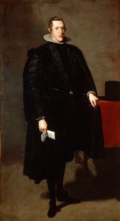 King Philip IV of Spain, 1626-28 Diego Velazquez