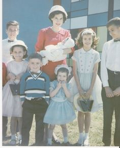 My baptism, Westover, MA 1963
