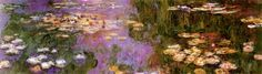 Water Lilies I Posters by Claude Monet at AllPosters.com