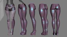 Cyber Chun-Li Wip 15 Wires by HazardousArts on DeviantArt 3d Model Character, Character Art, Character Design, Maya Character Modeling, Blender Character Modeling, Maya Modeling, Modeling Tips, Zbrush Tutorial, 3d Tutorial