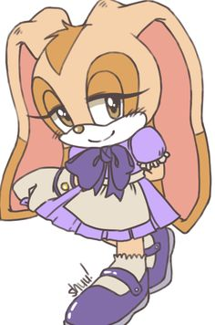 A cutie~ ❤ Sonic The Hedgehog, Game Character, Character Design, Cream Sonic, Big The Cat, Shadow Sonic, Sonic Dash, Kanna Kamui, Sonic Heroes