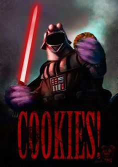 A Very Effective Dark Side Recruitment Poster, in case you hadn't heard the Dark Side has cookies