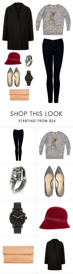 """""""Joy escaping"""" by thaloblue ❤ liked on Polyvore featuring James Jeans, Calibro 12, Oleg Cassini, Void, Borsalino, 1&20 Blackbirds, Topshop, casual and nowlistening"""