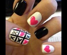 Black White n Hot Pink