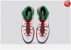 best service ef4db 41791 Nike Hyperdunk 2014 PE Green   Red   White   Gold Contest