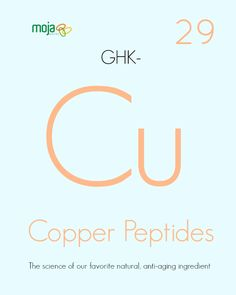 COPPER PEPTIDES: In-depth science behind one of our favorite natural anti-aging ingredients #naturalskincare #skincare